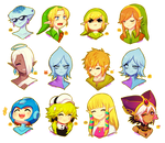 Emoji Challenge (LOZ, megaman, and Poupourri!)