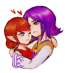 majora's mask -- Anju and Kafei