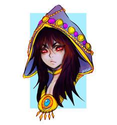 Hyrule Warriors  -- Wizzro by onisuu