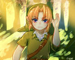 loz -- young link
