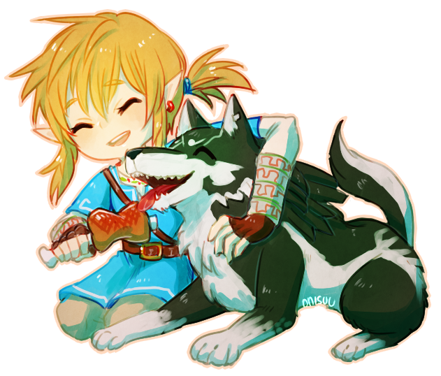Breath Of The Wild -- Good Friend By Onisuu On DeviantArt