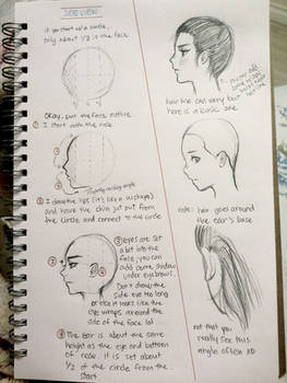 some tips for drawing side profiles