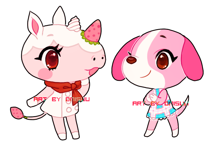 Acnl Merengue And Cookie By Onisuu On Deviantart