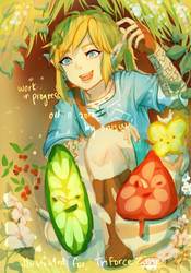 breath of the wild -- let's embark! by onisuu