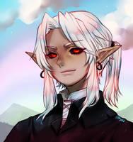 Dark Link smile by onisuu