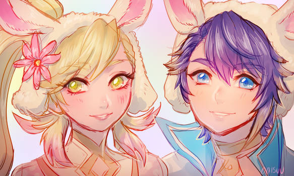 FEH -- Spring Sharena and Alphonse