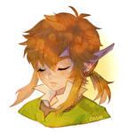 loz -- Sleepy Link