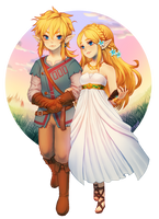 botw -- a walk together (+time lapse!!) by onisuu