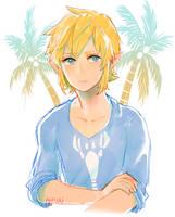 wind waker -- island boy by onisuu