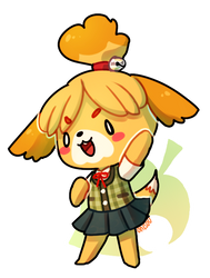 animal crossing -- isabelle