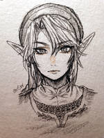 Loz -- pencil tp link by onisuu
