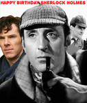 Happy Birthday Sherlock Holmes by GoodOldBaz