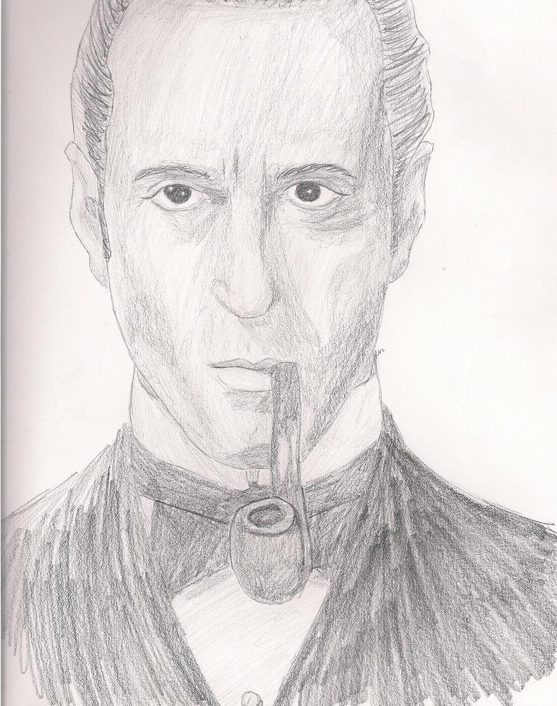 Mr. Holmes by GoodOldBaz