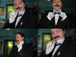 Hercule Poirot cosplay by GoodOldBaz