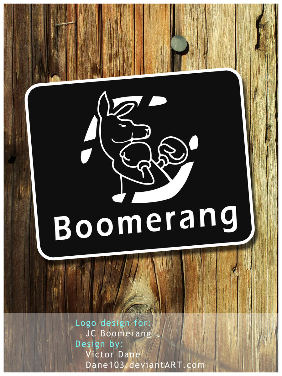 Boomerang logo design 2 by Dane103
