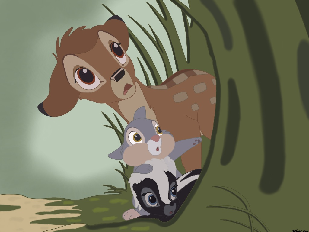 bambi and thumper - photo #20