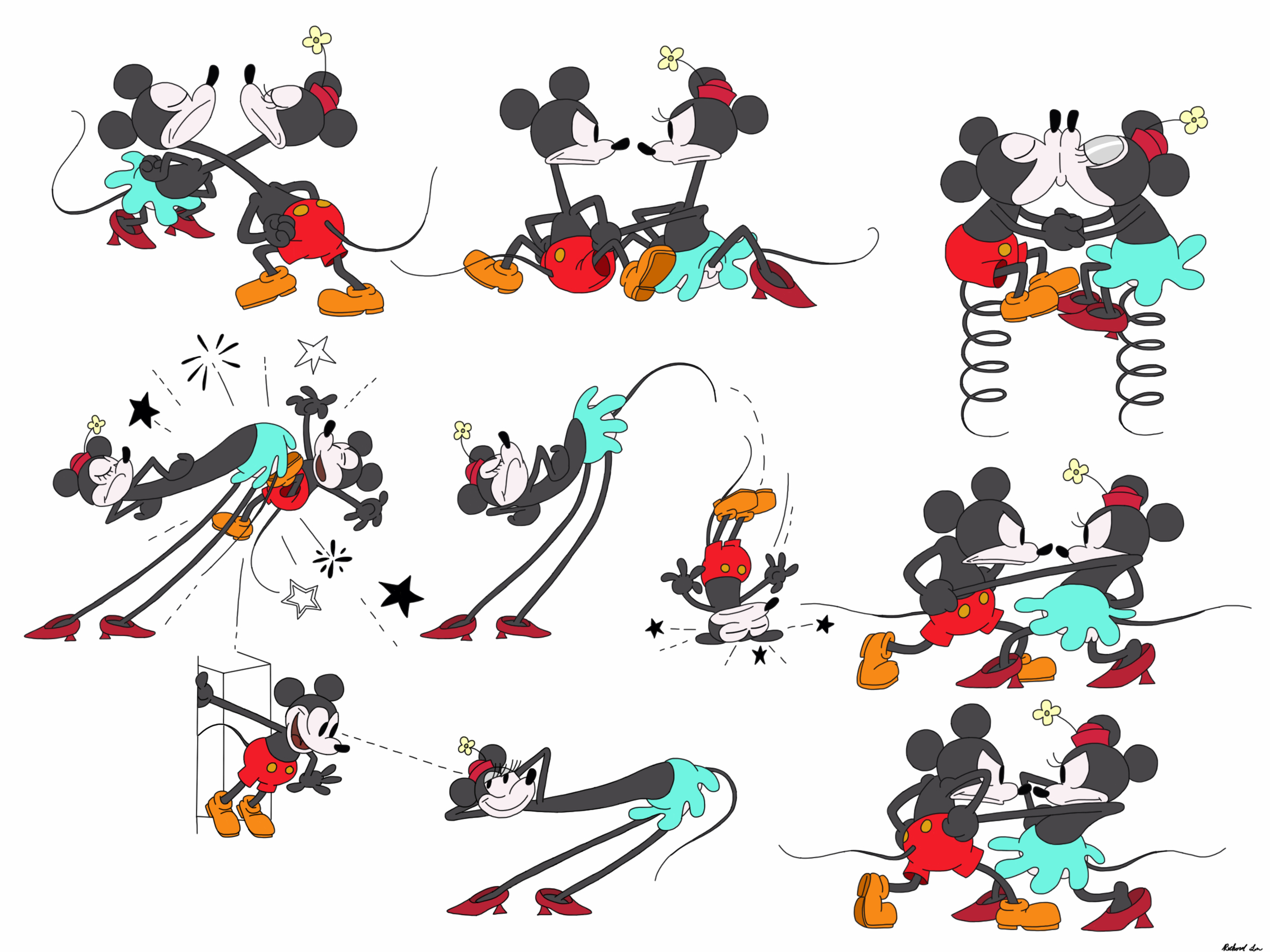 Minnie And Mickey Mouse Tumblr