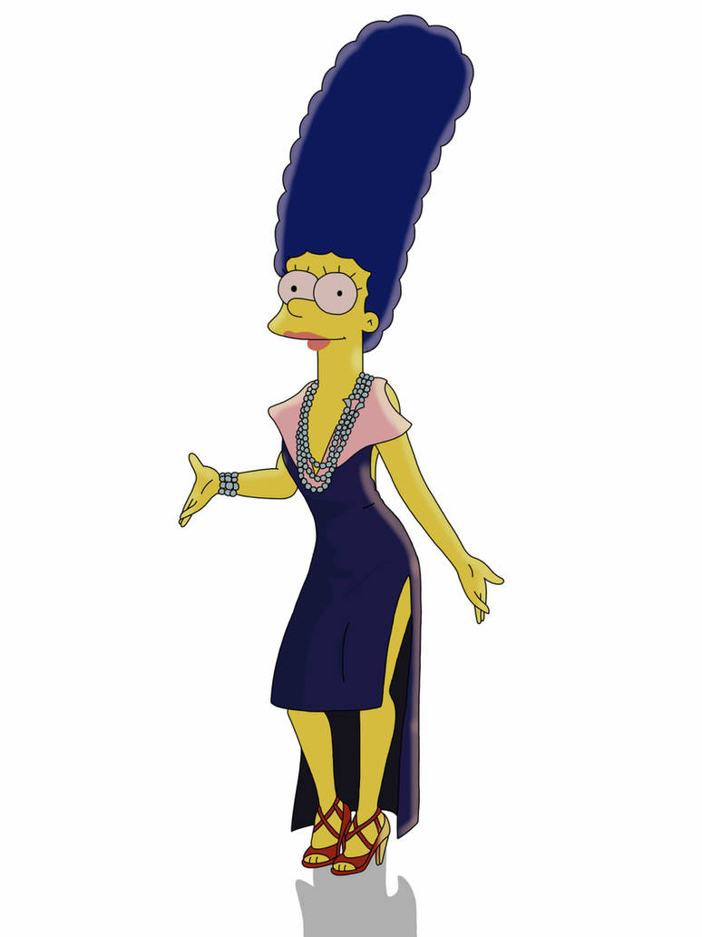 Marge Simpson ( 3 ) by Spartandragon12 on DeviantArt