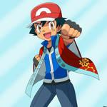 Ash Ketchum Pokemon Master