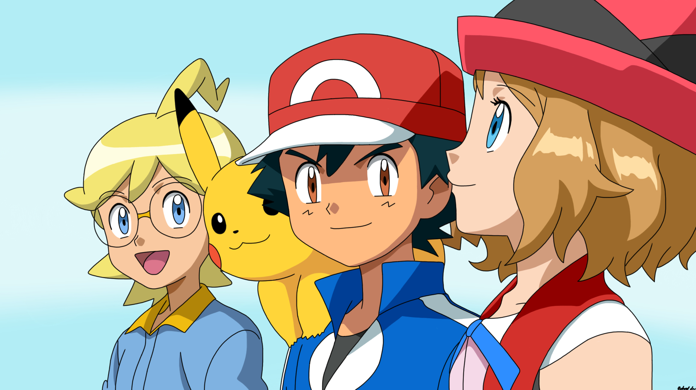 pokemon serena and ash