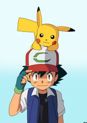 Pokemon Master, Ash Ketchum by Spartandragon12