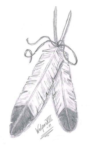 eagle feather tattoo. feathers tattoo. eagle feather
