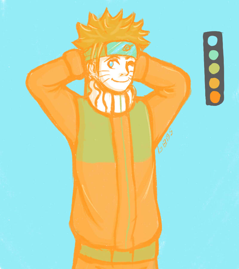 Naruto by Discord888
