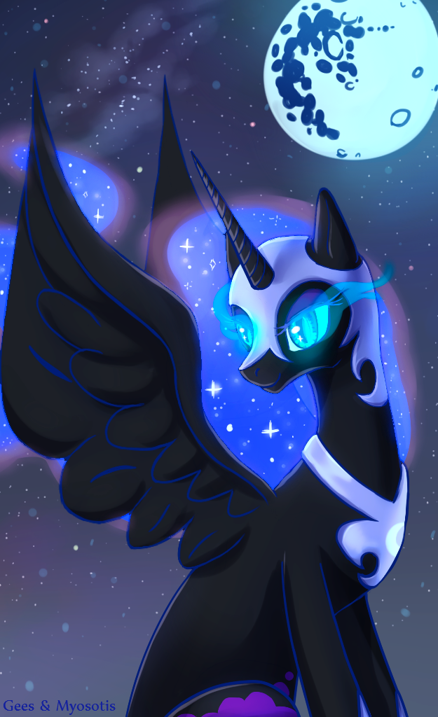 Nightmare Moon by Discord888