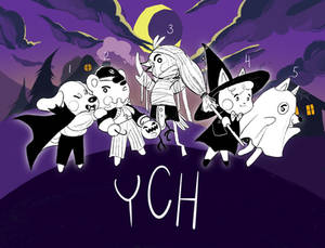 Halloween Night Out ! YCH