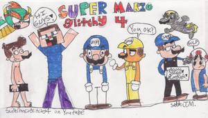SUPER MARIO glitchy 4