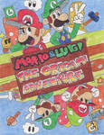 Mario And Luigi The Origami Adventure