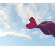 Love Is In The Air. by definiteserenade