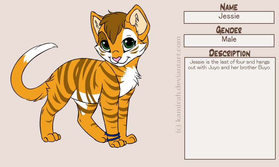 Jessie kitty by Kitrei-Sirto