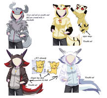 more hoodies by Kitrei-Sirto