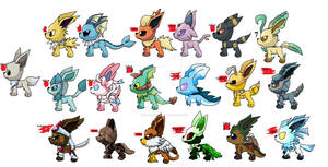 Eevee evolution adopts CLOSED