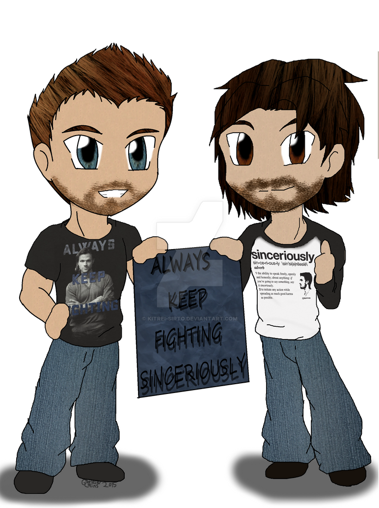 Stephen and Jared by Kitrei-Sirto