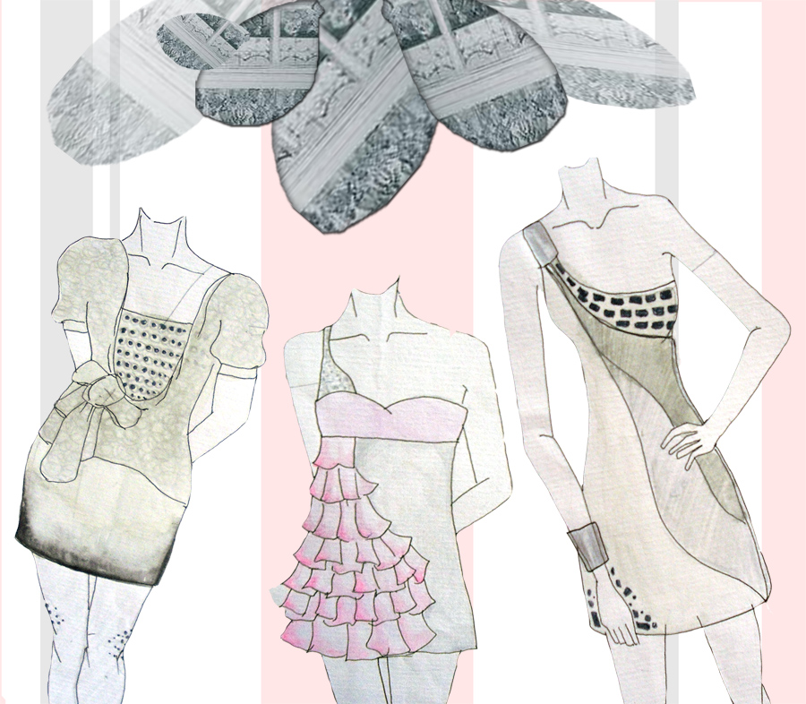 Sketsa Other Dress By Deluniq On Deviantart