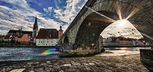 Regensburg HDR by StefanEffenhauser