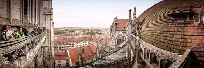 Regensburg Cathedral Panonama 3 by StefanEffenhauser