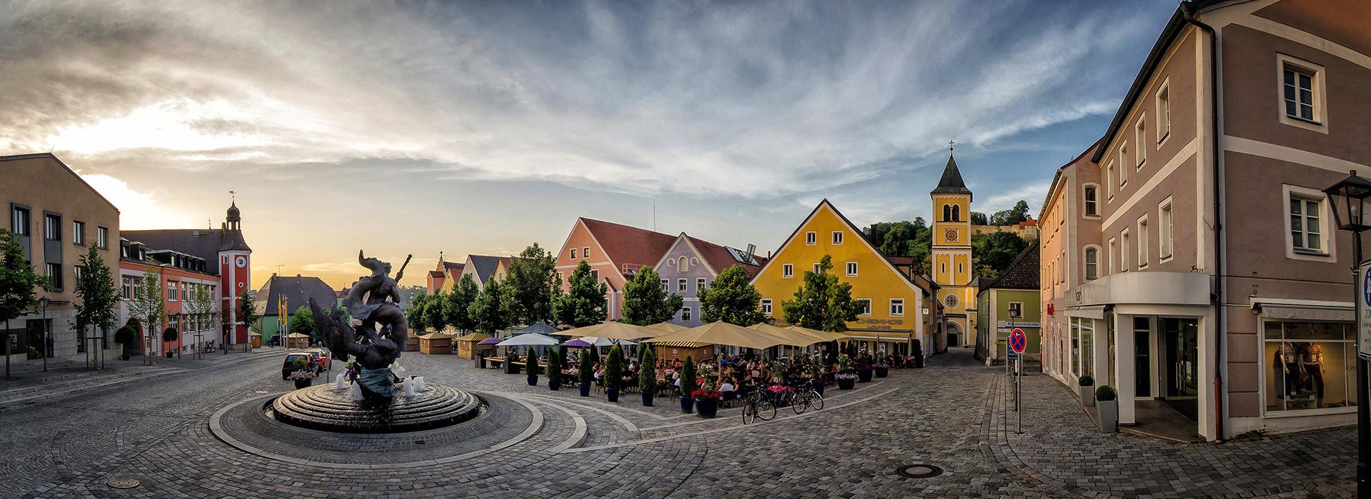 Marktplatz Burglengenfeld by StefanEffenhauser