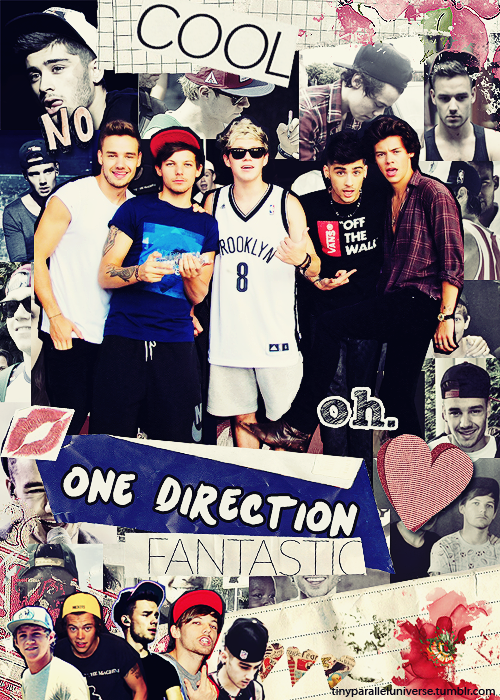 Collage: One Direction by MarketaKindlova on DeviantArt