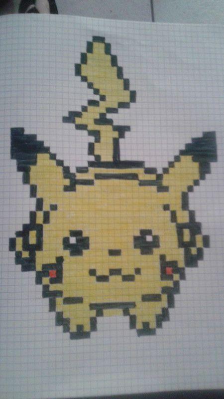 Pixel Art Pikachu By Ferminbackstap On Deviantart