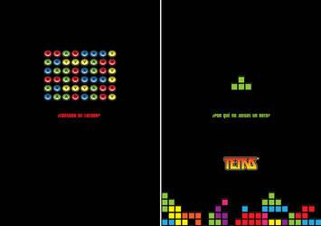 Fictional Ad - Tetris 1 by m-U-n-s-t-e-r
