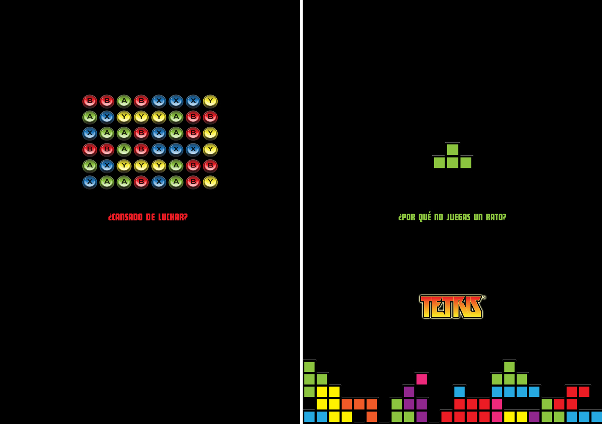 Fictional Ad - Tetris 1 by m-U-n-s-t-e-r