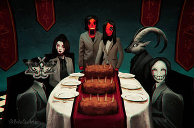 [DINNER IS SERVED] [dA Horror Challenge]