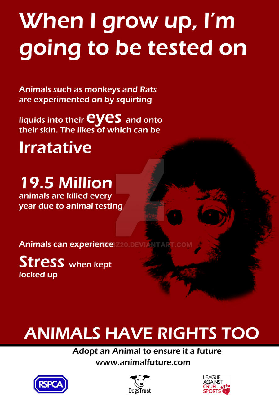 Animal Rights Poster 2 by Rob93z20