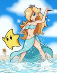 Rosalina at the Beach