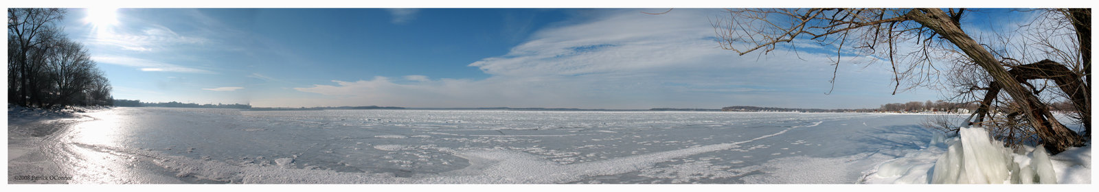 Lake Mendota Panoramic 2 by cheeseheads