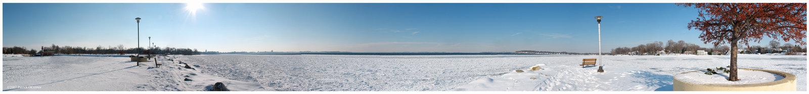 Lake Mendota Panoramic by cheeseheads