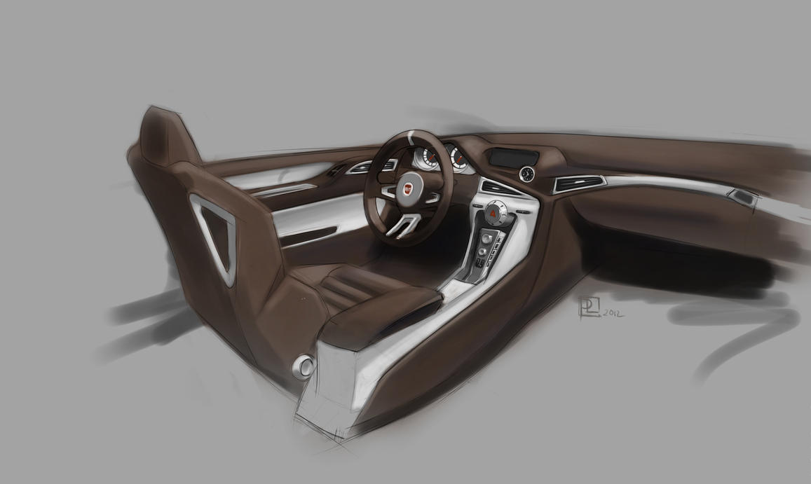 Interior rendering by lukas art on deviantart for Dash designs car interior shop